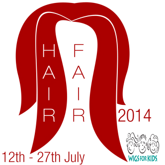 Hair Fair 2014 Logo with dates